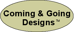 Coming & Going Designs logo